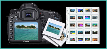 slides from your digital camera